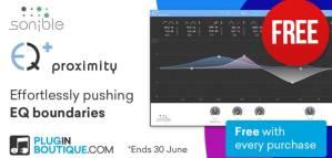 Proximity:EQ ($149) Is FREE With Any Purchase @ Pluginboutique