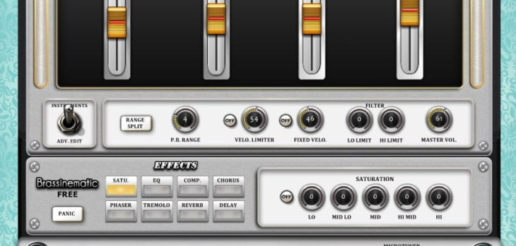 FananTeam Releases Free Brassinematic Synthesizer VST Plugin