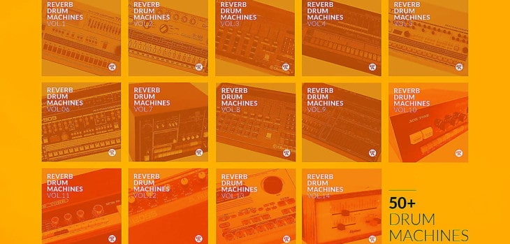 Reverb Drum Machines Sound Collection Is Now FREE (€841 Value)