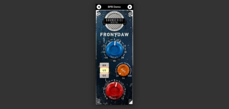 Front DAW Saturation VST Plugin Is FREE Until September 15th!