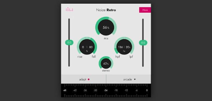 Denise Releases FREE Noize Retro Noise Generator VST/AU Plugin