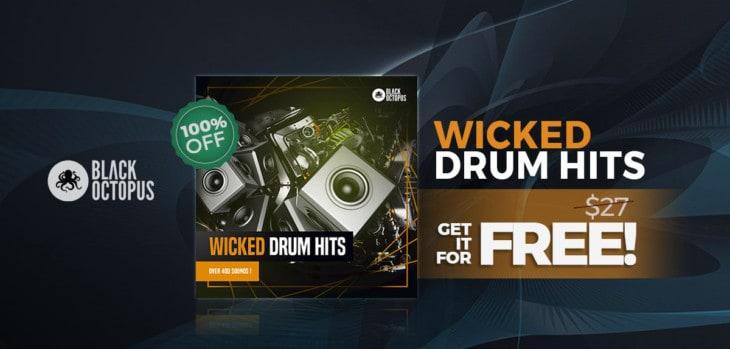 Wicked Drum Hits By Black Octopus IS FREE Until November 26th