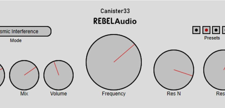 Canister33 by RebelAudio