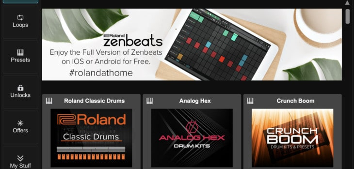 Roland Zenbeats Free