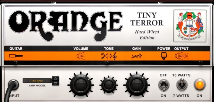 Orange Tiny Terror for AmpliTube Custom Shop