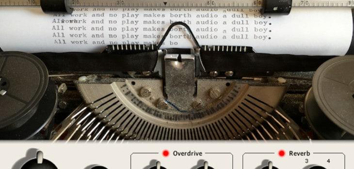 Typewriter by Borth Audio