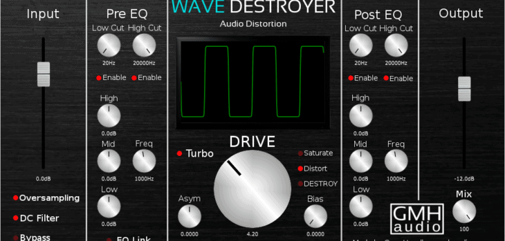 Wave Destroyer by GMH Audio
