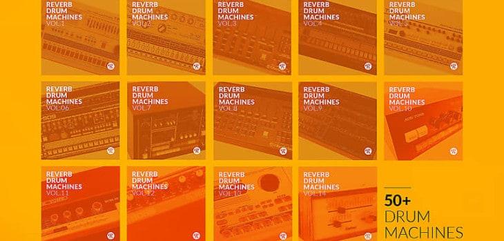 Reverb Drum Machines FREE