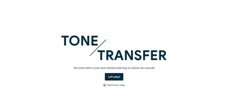 Tone Transfer by Google