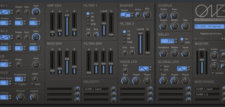 kHs One by kiloHearts