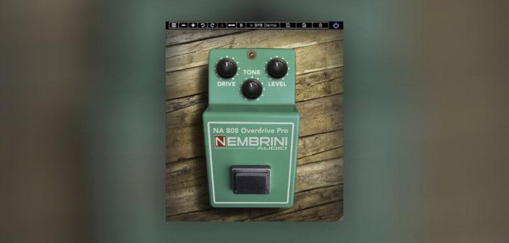 NA 808 Overdrive Pro by Nembrini Audio