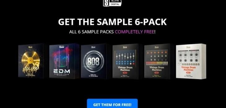 Free Sample Packs by Slate Digital