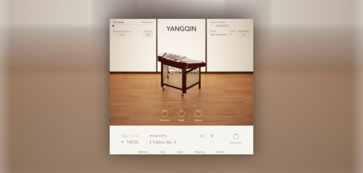 Native Instruments Releases FREE Yangqin For Kontakt Player