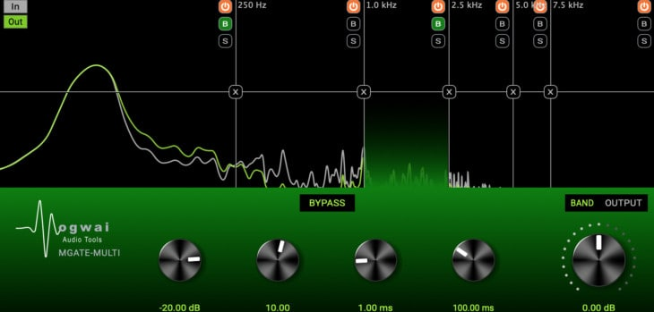 MGate-Multi by Mogwai Audio Tools