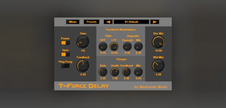 T-Force Delay by Mastrcode Music