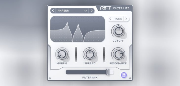 Rift Filter Lite by Minimal Audio