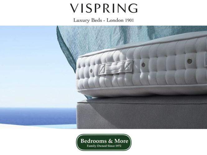 Bedrooms More Seattle Now Featuring Vispring Mattresses