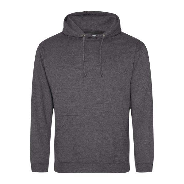 hotskool grijs kleur hoodie - bedruk mijn hoody