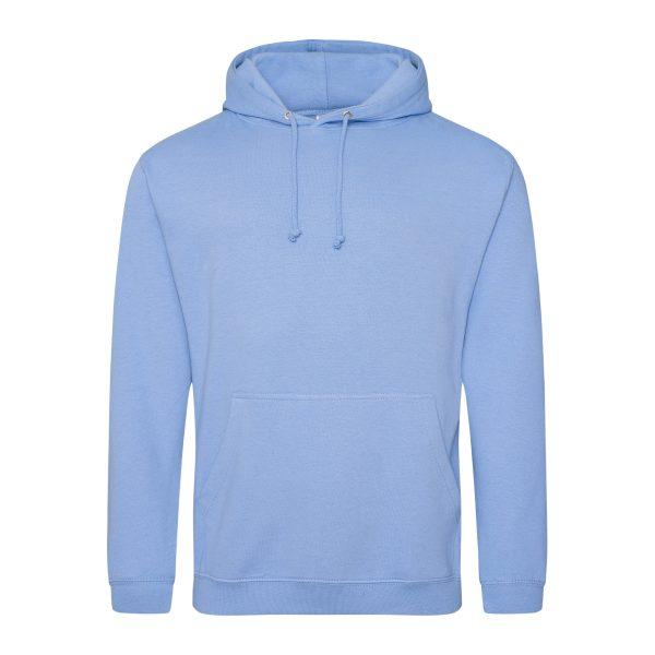 korenbloem blauw kleur hoodie - bedruk mijn hoody