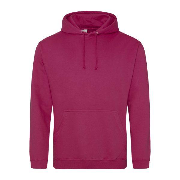 cranberry rood kleur hoodie - bedruk mijn hoody