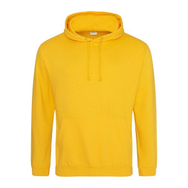 goud geel kleur hoodie - bedruk mijn hoody