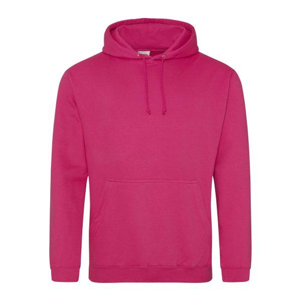 Hot pink / fuchsia hoodie - bedruk mijn hoody