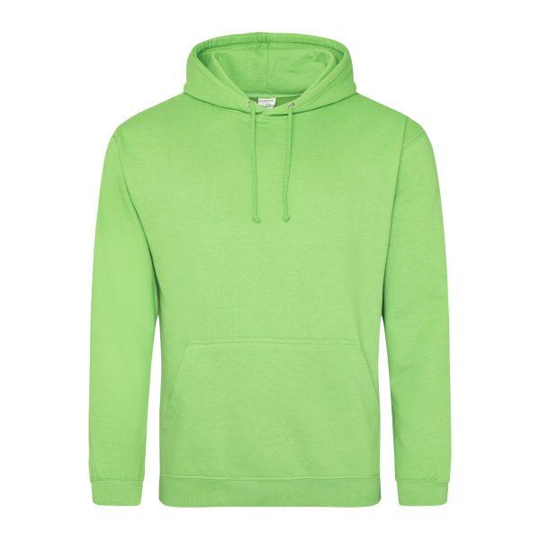 Lime groen kleur hoodie - bedruk mijn hoody