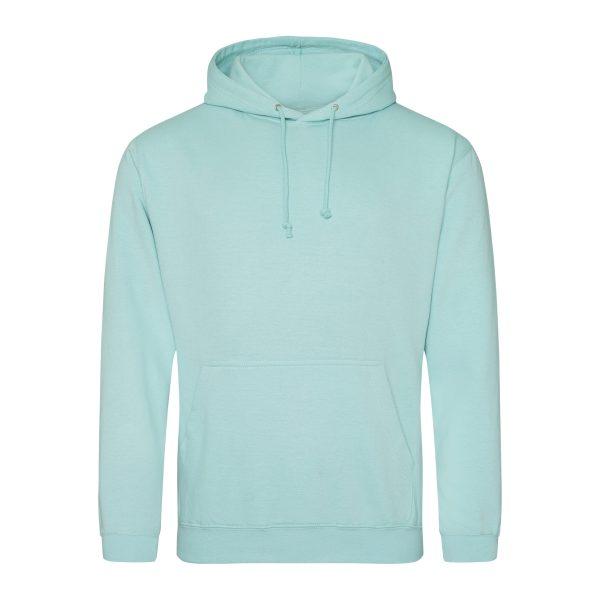 pepermunt kleur hoodie - bedruk mijn hoody