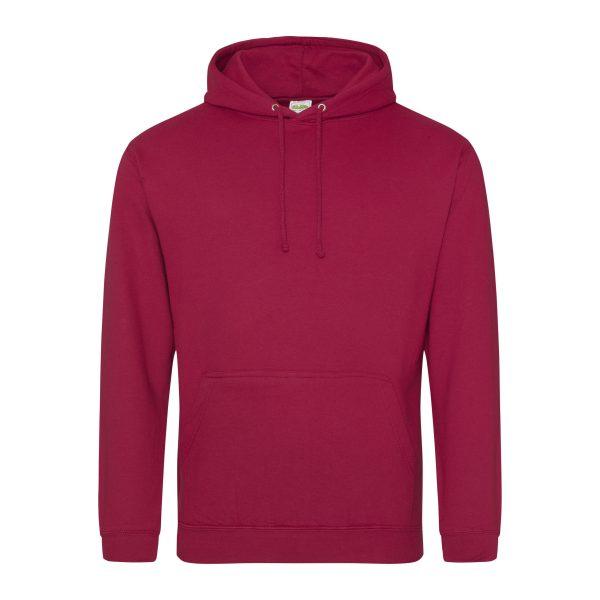 red hot chili rood kleur hoodie - bedruk mijn hoodie