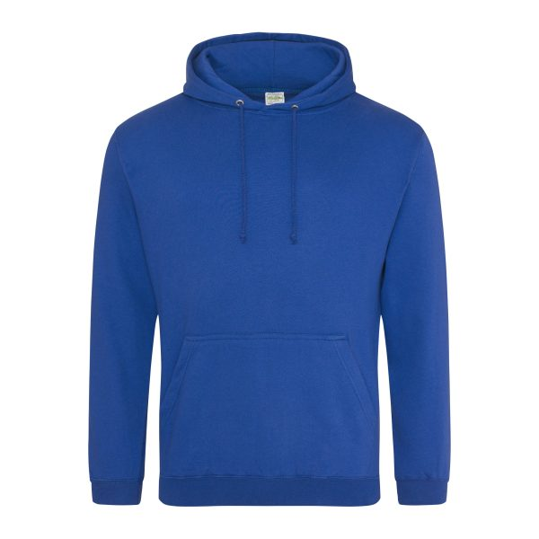 royaal blauw hoodie - bedruk mijn hoodie