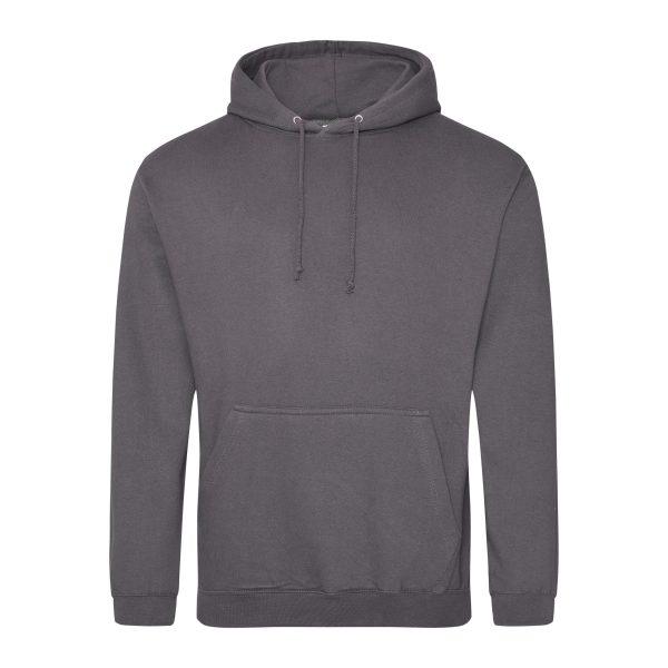 staal grijs kleur hoodie - bedruk mijn hoodie