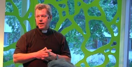 Mikael Bedrup föreläste i Gävle Stadsbibliotek 20090909. Foto: Östling