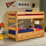 Twin Over Twin Solid Wood Bunk Bed Beds To Go