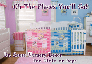 Dr. Seuss Oh The Places You\'ll Go Nursery Decor