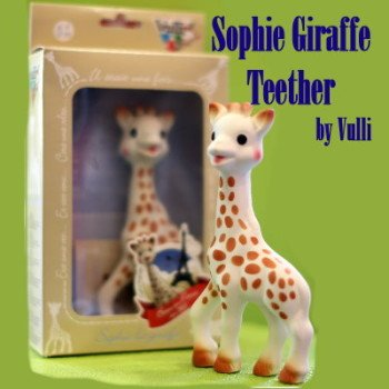 Vulli - Sophie Giraffe Teether