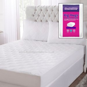 Slumberdown Big Hugs Mattress Protector (with boxed skirt)