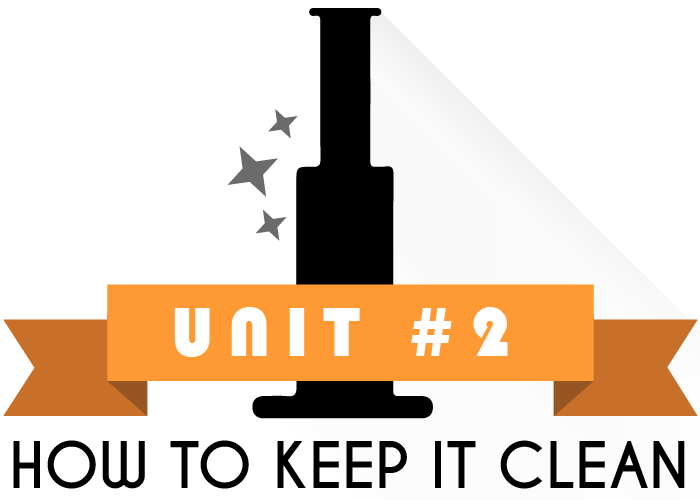 Unit 2 of How to Clean A Bong- How to keep it Clean