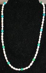 amelia earhart chrysocolla necklace