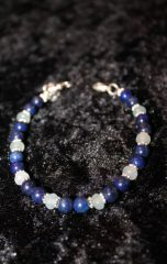 lapis and aquamarine calypso bracelet handmade by beejewelled (3)