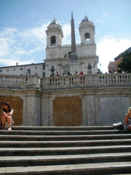 One Day in Rome- The Spanish Steps