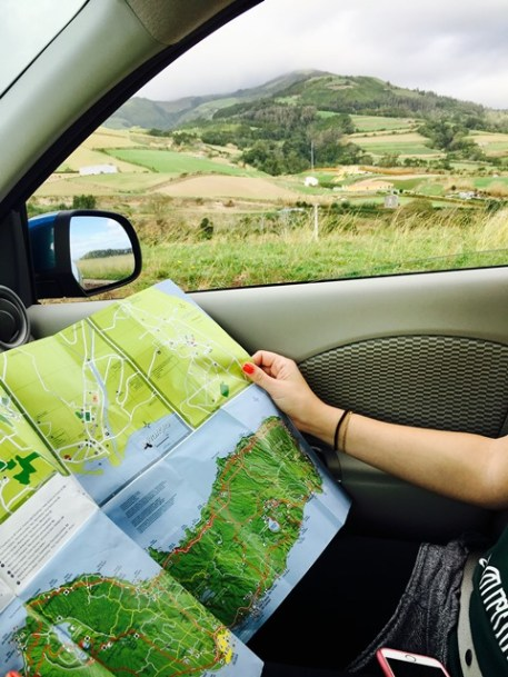Following the Azores Itinerary driving through the island map in hand on your way to the many things to do in the Azores