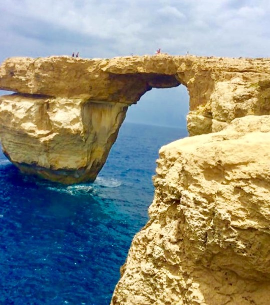 A day trip to Gozo is a must during your 5 days in Malta, even though this beautiful rock formation is no longer there.