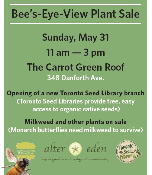 Bee's Eye View Plant Sale