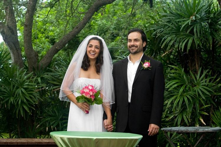 backyard wedding simple wedding mcallen