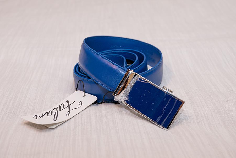 blue belt for wedding suit
