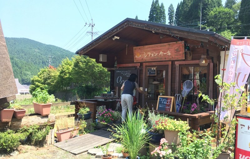 [打工換宿wwoof]山中的甜點小屋