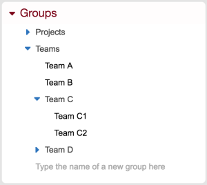 BeeBole - Groups Module