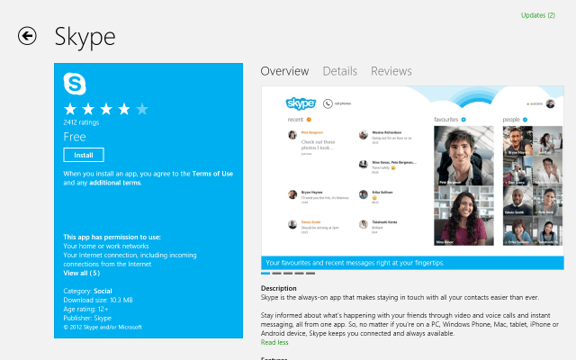 Top Social Apps for Windows 8 in 2013