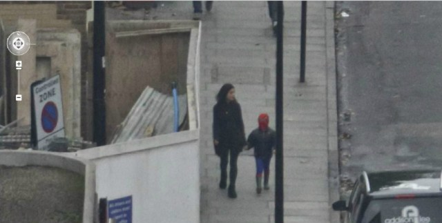 spiderman in his childhood