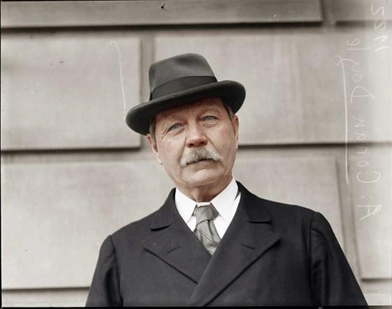 Sherlock Holmes author - Sir Arthur Conan Doyle